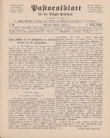 Pastoralblatt für die Diözese Ermland, 34.Jahrgang, 1. März 1902, Nr 3.