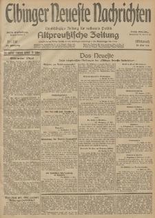 Elbinger Neueste Nachrichten, Nr. 130 Mittwoch 13 Mai 1914 66. Jahrgang