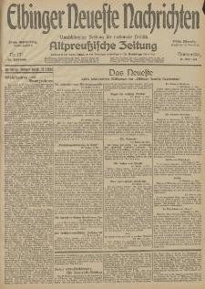 Elbinger Neueste Nachrichten, Nr. 131 Donnerstag 14 Mai 1914 66. Jahrgang