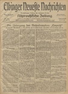Elbinger Neueste Nachrichten, Nr. 146 Sonnabend 30 Mai 1914 66. Jahrgang
