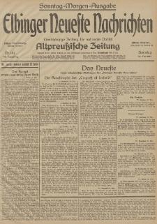 Elbinger Neueste Nachrichten, Nr. 147 Sonntag 31 Mai 1914 66. Jahrgang