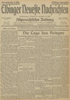 Nr. 3 Montag 4 Januar 1915 67. Jahrgang