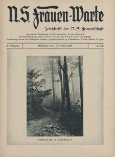 N.S. Frauen-Warte : Zeitschrift der N. S. Frauenschaft, 2.Jahrgang 1933, 1. November, H. 9