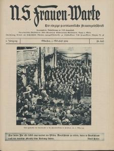 N.S. Frauen-Warte : Zeitschrift der N. S. Frauenschaft, 2.Jahrgang 1934, 1. März, H. 18
