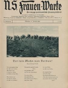 N.S. Frauen-Warte : Zeitschrift der N. S. Frauenschaft, 3.Jahrgang 1934, 3. Juli, H. 3