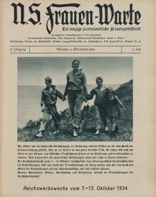 N.S. Frauen-Warte : Zeitschrift der N. S. Frauenschaft, 3.Jahrgang 1934, 1. Oktober, H. 8