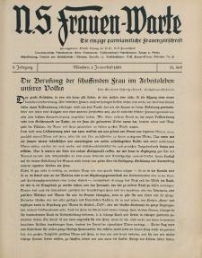 N.S. Frauen-Warte : Zeitschrift der N. S. Frauenschaft, 3.Jahrgang 1935, 1. Januar, H. 15