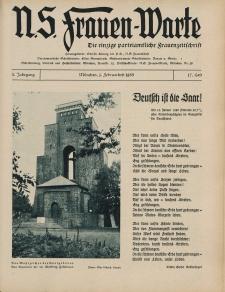 N.S. Frauen-Warte : Zeitschrift der N. S. Frauenschaft, 3.Jahrgang 1935, 1. Februar, H. 17