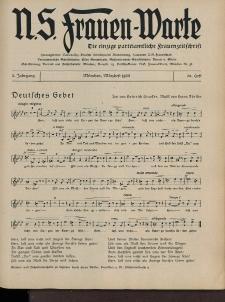 N.S. Frauen-Warte : Zeitschrift der N. S. Frauenschaft, 3.Jahrgang 1935, 2. März, H. 20