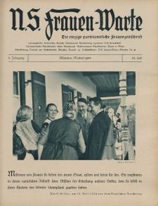 N.S. Frauen-Warte : Zeitschrift der N. S. Frauenschaft, 3.Jahrgang 1935, 1. Mai, H. 23