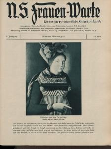 N.S. Frauen-Warte : Zeitschrift der N. S. Frauenschaft, 3.Jahrgang 1935, 2. Mai, H. 24