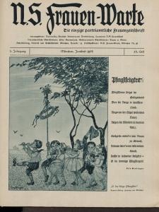 N.S. Frauen-Warte : Zeitschrift der N. S. Frauenschaft, 3.Jahrgang 1935, 1. Juni, H. 25