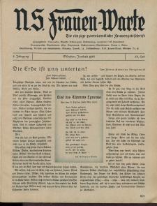 N.S. Frauen-Warte : Zeitschrift der N. S. Frauenschaft, 3.Jahrgang 1935, 2. Juni, H. 26