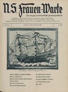 N.S. Frauen-Warte : Zeitschrift der N. S. Frauenschaft, 4.Jahrgang 1935, 2. September, H. 6