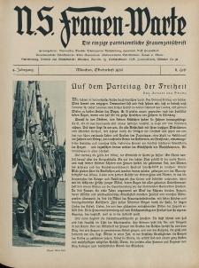 N.S. Frauen-Warte : Zeitschrift der N. S. Frauenschaft, 4.Jahrgang 1935, 1. Oktober, H. 8