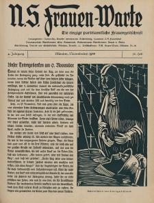 N.S. Frauen-Warte : Zeitschrift der N. S. Frauenschaft, 4.Jahrgang 1935, 1. November, H. 10