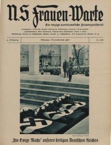 N.S. Frauen-Warte : Zeitschrift der N. S. Frauenschaft, 4.Jahrgang 1935, 3. November, H. 12