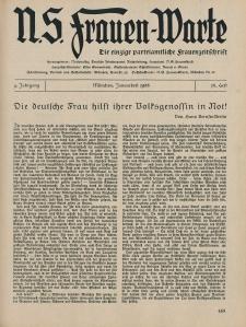 N.S. Frauen-Warte : Zeitschrift der N. S. Frauenschaft, 4.Jahrgang 1936, 1. Januar, H. 15