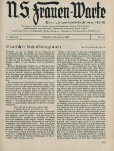 N.S. Frauen-Warte : Zeitschrift der N. S. Frauenschaft, 4.Jahrgang 1936, 1. Februar, H. 17