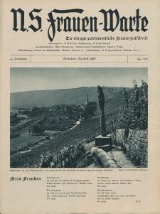 N.S. Frauen-Warte : Zeitschrift der N. S. Frauenschaft, 4.Jahrgang 1936, 2. Mai, H. 24