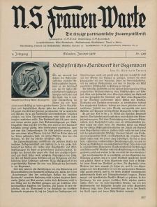 N.S. Frauen-Warte : Zeitschrift der N. S. Frauenschaft, 4.Jahrgang 1936, 1. Juni, H. 26