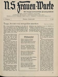 N.S. Frauen-Warte : Zeitschrift der N. S. Frauenschaft, 5.Jahrgang, 2. Juli 1936, H. 3