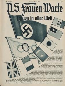 N.S. Frauen-Warte : Zeitschrift der N. S. Frauenschaft, 5.Jahrgang, 2. August 1936, H. 5
