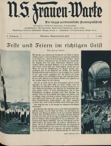 N.S. Frauen-Warte : Zeitschrift der N. S. Frauenschaft, 5.Jahrgang, 2. September 1936, H. 7