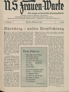 N.S. Frauen-Warte : Zeitschrift der N. S. Frauenschaft, 5.Jahrgang, 2. Oktober 1936, H. 9
