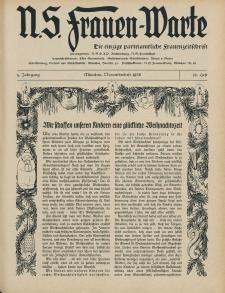 N.S. Frauen-Warte : Zeitschrift der N. S. Frauenschaft, 5.Jahrgang, 2. November 1936, H. 12