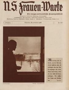 N.S. Frauen-Warte : Zeitschrift der N. S. Frauenschaft, 5.Jahrgang, 2. Dezember 1936, H. 14