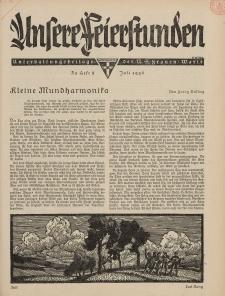N.S. Frauen-Warte : Zeitschrift der N. S. Frauenschaft (Unsere Feierstunden : Heft 3)