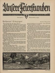 N.S. Frauen-Warte : Zeitschrift der N. S. Frauenschaft (Unsere Feierstunden : Heft 7)