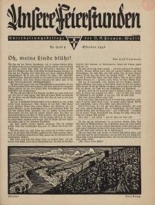 N.S. Frauen-Warte : Zeitschrift der N. S. Frauenschaft (Unsere Feierstunden : Heft 9)