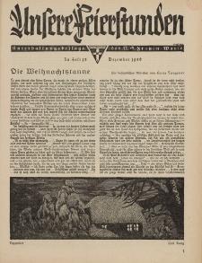 N.S. Frauen-Warte : Zeitschrift der N. S. Frauenschaft (Unsere Feierstunden : Heft 13)