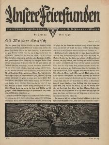 N.S. Frauen-Warte : Zeitschrift der N. S. Frauenschaft (Unsere Feierstunden : Heft 23)