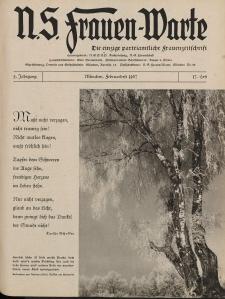 N.S. Frauen-Warte : Zeitschrift der N. S. Frauenschaft, 5.Jahrgang, 1. Februar 1937, H. 17