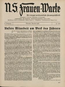 N.S. Frauen-Warte : Zeitschrift der N. S. Frauenschaft, 5.Jahrgang, 1. April 1937, H. 21