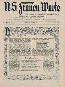 N.S. Frauen-Warte : Zeitschrift der N. S. Frauenschaft, 5.Jahrgang, 2. Mai 1937, H. 24