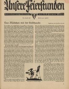 N.S. Frauen-Warte : Zeitschrift der N. S. Frauenschaft (Unsere Feierstunden : Heft 17)