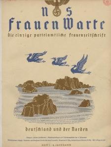 N.S. Frauen-Warte : Zeitschrift der N. S. Frauenschaft, 6.Jahrgang 1937, 1. Juli, H. 1