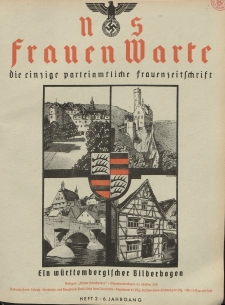 N.S. Frauen-Warte : Zeitschrift der N. S. Frauenschaft, 6.Jahrgang 1937, 2. Juli, H. 2