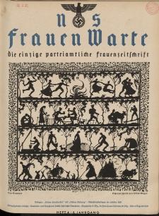 N.S. Frauen-Warte : Zeitschrift der N. S. Frauenschaft, 6.Jahrgang 1937, 2. August, H. 4