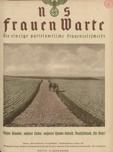 N.S. Frauen-Warte : Zeitschrift der N. S. Frauenschaft, 6.Jahrgang 1937, 2. September, H. 6