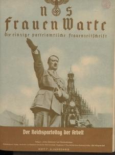 N.S. Frauen-Warte : Zeitschrift der N. S. Frauenschaft, 6.Jahrgang 1937, 1. Oktober, H. 7