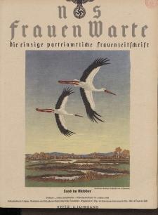 N.S. Frauen-Warte : Zeitschrift der N. S. Frauenschaft, 6.Jahrgang 1937, 2. Oktober, H. 8