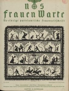 N.S. Frauen-Warte : Zeitschrift der N. S. Frauenschaft, 6.Jahrgang 1937, 1. Dezember, H. 10