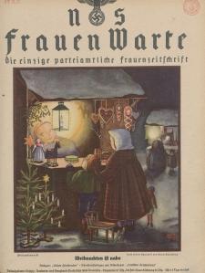 N.S. Frauen-Warte : Zeitschrift der N. S. Frauenschaft, 6.Jahrgang 1937, 2. Dezember, H. 11