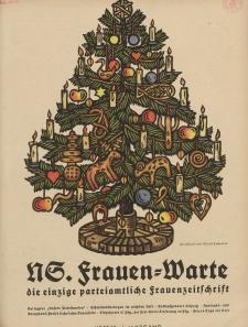 N.S. Frauen-Warte : Zeitschrift der N. S. Frauenschaft, 6.Jahrgang 1937, 3. Dezember, H. 12