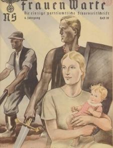 N.S. Frauen-Warte : Zeitschrift der N. S. Frauenschaft, 6.Jahrgang 1938, H. 20